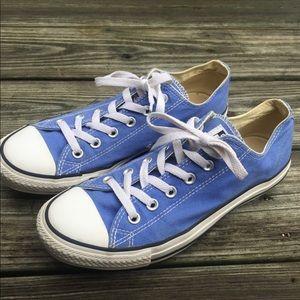 Women's blue converse